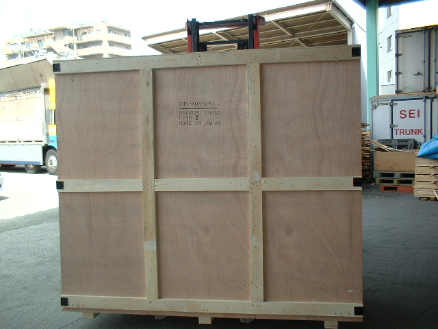 木箱(JIS Z 1402)/Wooden framd boxes for packing